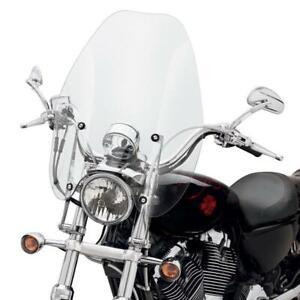 Harley Sportster quick-release super-sport windshield