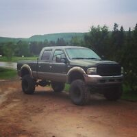 2004 Ford F-350 King Ranch Lifted
