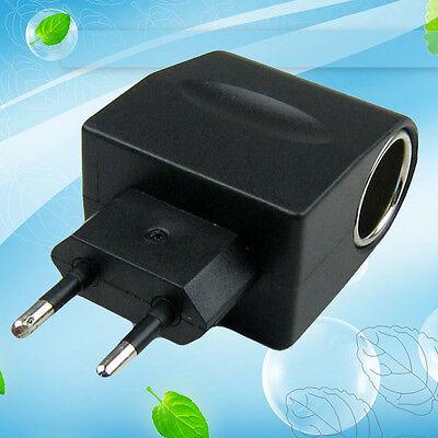 100-240V AC-DC EU Hype stop up Car Cigarette Lighter Socket Power Converter Adapter Blac