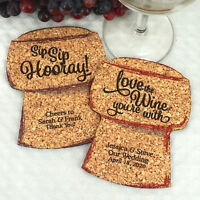 Personalized Cork Coasters