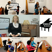 Piano Lessons in Community Center. Markham. Richmond Hill.