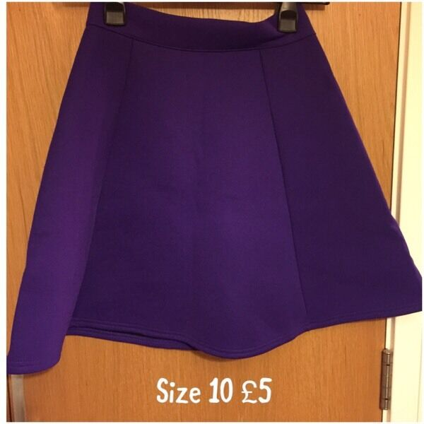 SOLD PENDING COLLECTION Purple Skirt