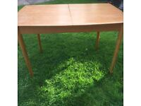 Dinning table 1970's extending Ercol style