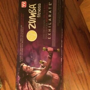 Zumba DVD set with weights  Peterborough Peterborough Area image 2