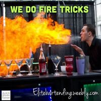 Bottle flipping bartenders/photobooth/bar rentals