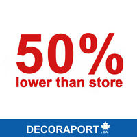 Decoraport.ca----50% Lower Than Store