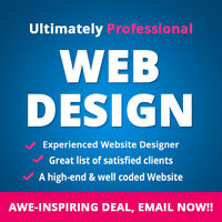 Awesome, Professional Web Design - Get it done for $199 only
