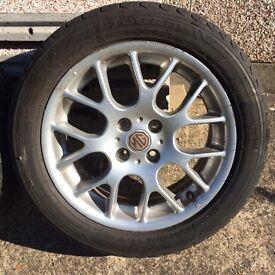 Rover MG ZR Alloy Wheels