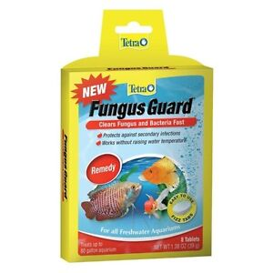 Two Packages of Tetra Fungus Guard