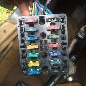 Rx7 FB fuse box and harness