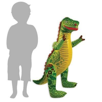 Aufblasbarer DINOSAURIER, für die T-Rex-Party zum Kindergeburtstag, Deko-Idee ()