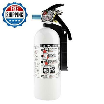 White Fire Extinguisher Dry Chemical Emergency Home Car Boat Garage Safety 3lb