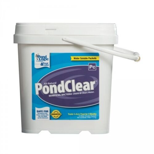 Pond Logic Pond Clear -Dry 3 lb/12 Pk-Beneficial Water Garden Bacteria by Airmax
