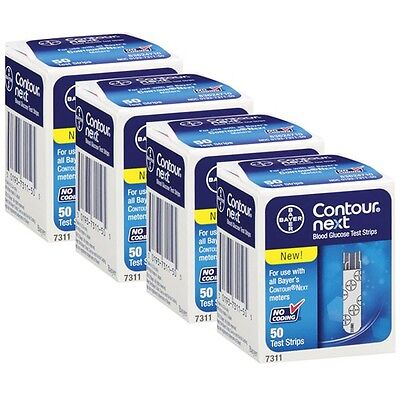 Bayer Contour Next Blood Glucose 200 Test Strips Expiration Date: 06/2018