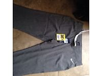 Nike womans track bottoms brand new size 14 straight leg.