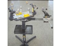 Racket stringing machine