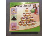 New in box wire cupcake stand