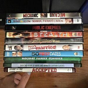 Movie DVDs