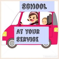 Drop off/Pick up /after school care.