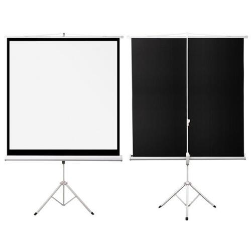 70quot Portable Projector Screen 125x125cm Projection Pull Up  : 12  from www.ebay.co.uk size 500 x 500 jpeg 10kB