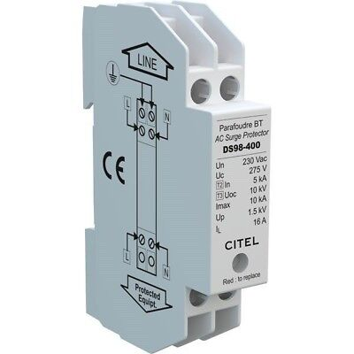 CITEL DS98-400 Compact Single Phase 230V Surge Protector