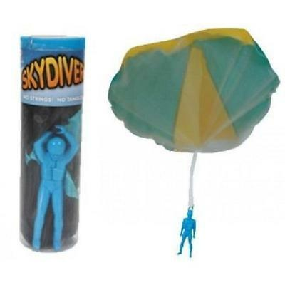 Tangle Free Parachute Skydiver Outdoor Fun Kids Toy Pinata Party Favour Filler