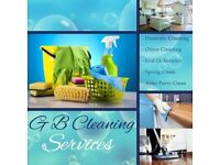 GB Cleaning Services -Domestic and small office cleaning