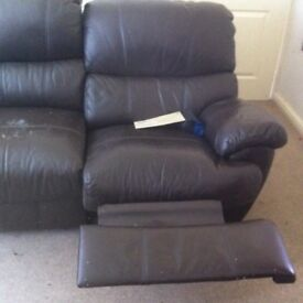 3 and 2 seater recliners