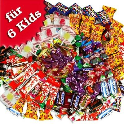 Süßwaren-Set, Füllung für Pinata/Schultüte, Kamelle zum Fasching/Karneval, 970g
