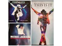 Michael Jackson DVD's