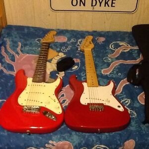 2 youth size electric guitars