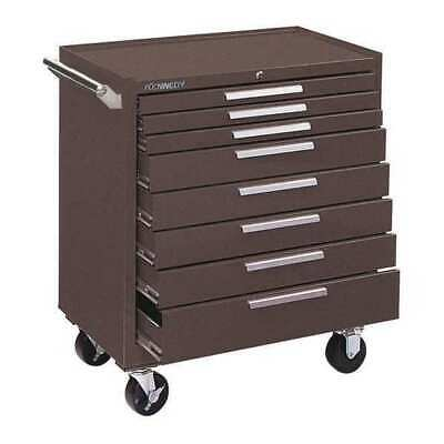 Kennedy 348xb 34w Tool Cabinet 8 Drawers Brown 20d X 39h