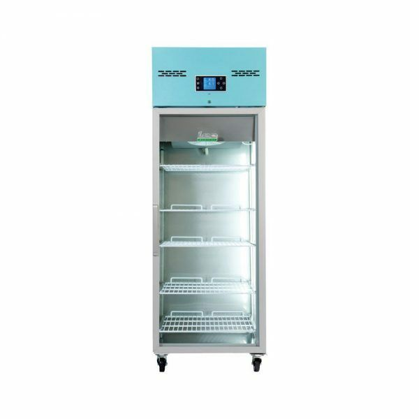 Lec Medical pgr600 tall glass door pharmacy refrigerator 444440365