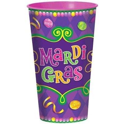 Mardi Gras Large Plastic Cup 32 - Mardi Gras Plastic Cups