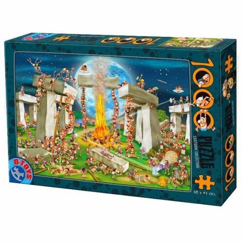 D-Toys 1000 Piece Puzzle - Cartoon Collection Stonehenge