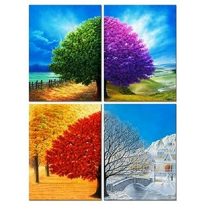 Canvas Print Wall Art Picture Painting Photo Poster Home Decor 4 Season Colors