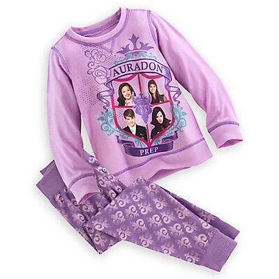 Nwt Disney Store Descendants Pajama Set Girls Sz 4 5 6