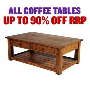 ALL COFFEE TABLES - FACTORY SECONDS-  50%-80% OFF RRP Granville Parramatta Area Preview