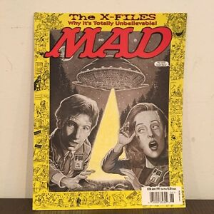 Vintage Mad Magazine The X-Files Issue