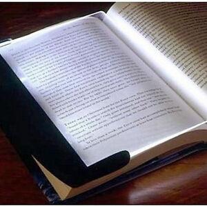 Night Vision LED Light Book Straightforward Page Reading Lamp Reading Read Panel