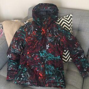 Immaculate like new girl Billabong Winter jacket Large Size 12 Gatineau Ottawa / Gatineau Area image 2