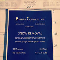 Bishara construction snow removal services