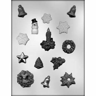 Christmas Assortment Chocolate Candy Mold from CK #4117