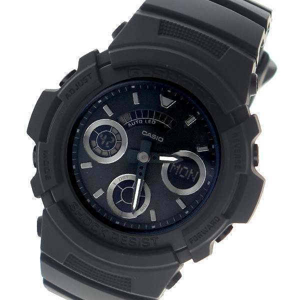 info for 41421 e8663 Details about Casio G-Shock Mens Watch AW591BB-1A AW-591BB-1ADR  Digital-Analogue Black