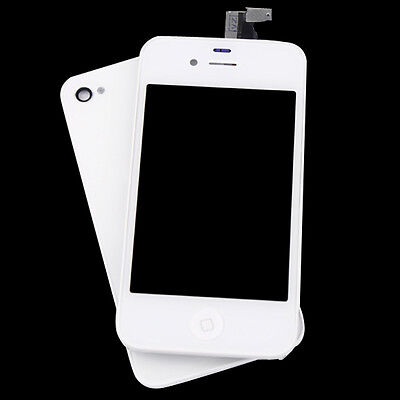 White For Iphone 4S LCD Display+Touch Screen Glass Digitizer+Back Cover Assembly on Rummage