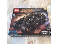 Brand new sealed batman Lego tumbler 76023 retired set