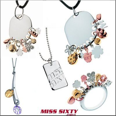 Authentic MISS SIXTY Ladies Fashion Jewelry Charm Collection Pendant - Miss Sixty Jewellery