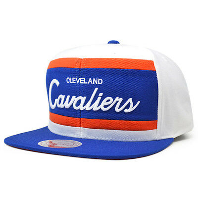 Cleveland Cavaliers COLOR BLOCK Snapback Mitchell & Ness NBA Hat ()