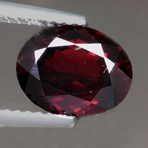 2.87cts Lovely Oval Deep Red Natural Spessartite Garnet Loose Genuine Gemstones
