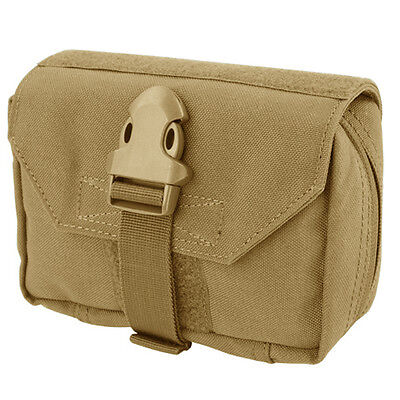 NEW Condor 191028 Tactical MOLLE EMT Medic First Response Utility Pouch TAN